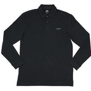 Greg Norman Attack Life Long Sleeve Golf Shirt